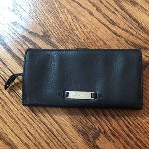 Adorable pebbled Cole Haan wallet